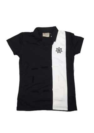 St Mary's College PE/Netball Polo Black/White