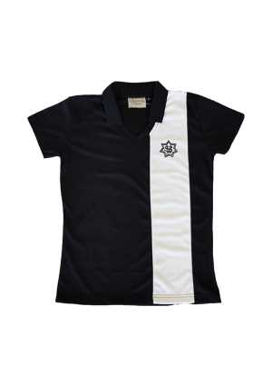St Mary's College PE Polo Black/White